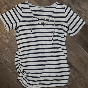 Old Navy Maternity Side Ruched Shirt